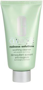 Clinique Redness Solutions Soothing Cleanser gel de curățare pentru piele sensibilă