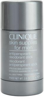 Clinique For Men™ Stick-Form Antiperspirant Deodorant izzadásgátló deo stift minden bőrtípusra