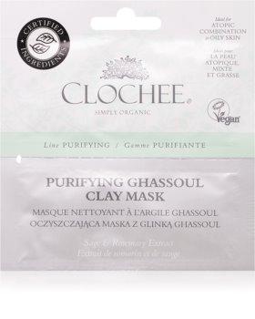 Clochee Purifying masca de fata  pentru curatare cu argila