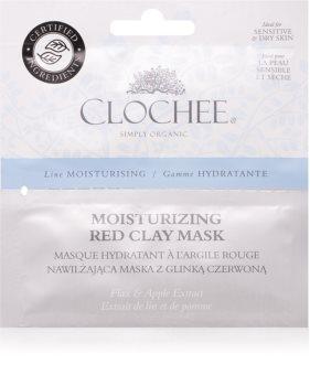 Clochee Moisturising masque à l'argile pour un effet naturel