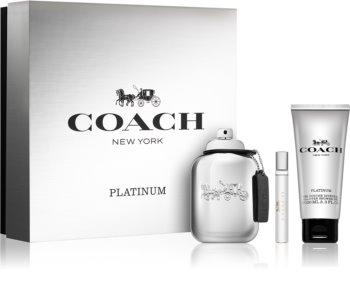 Coach Platinum Geschenkset I. für Herren