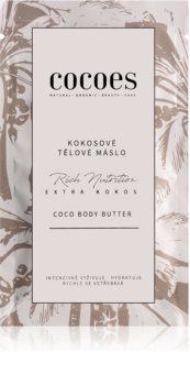 COCOES Rich Nutrition Extra Kokos intensive feuchtigkeitsspendende Körperbutter mit Kokos