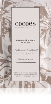 COCOES Intensive Treatment Extra Kokos maska na vlasy s kokosom