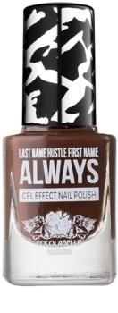 Cocolabelle Gel-Tastic Last Name Hustle First Name Always lak na nehty s gelovým efektem