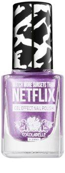 Cocolabelle Gel-Tastic Watch More Sunsets Than Netflix esmalte de uñas efecto gel