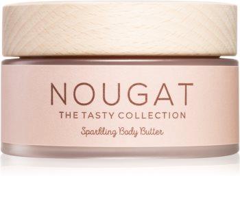 COCOSOLIS Nougat sametové tělové máslo pro rozjasnění a hydrataci