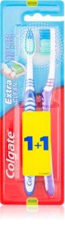 Colgate Extra Clean οδοντόβουρτσες μέτρια 2 τεμ
