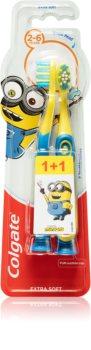 Colgate Smilies Minions brosse à dents pour enfants extra soft