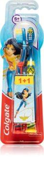 Colgate Smiles Wonder Woman brosse à dents pour enfants 6 ans+ soft