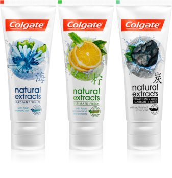 Colgate Natural Extracts Zahnpflegeset