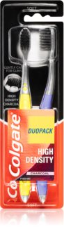 Colgate High Density Charcoal brosse à dents soft 2 pcs