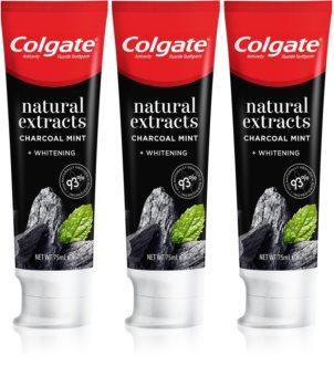 Colgate Natural Extracts Charcoal + White fogfehérítő fogkrém faszénnel