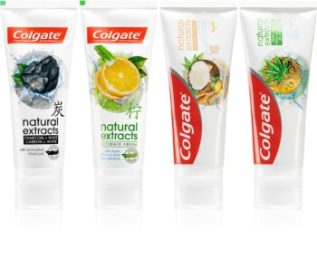 Colgate Natural Extracts набор для ухода за зубами (4шт.)