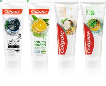 Colgate Natural Extracts kit med tandvård (4 st)