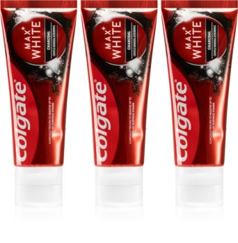 Colgate Max White Charcoal Whitening Toothpaste with Activated Charcoal