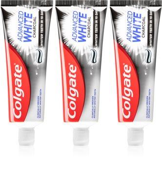 Colgate Advanced White bleichende Zahnpasta mit Aktivkohle