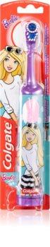 Colgate Kids Barbie детска електрическа четка за зъби със сменяеми батерии много мека