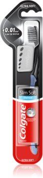 Colgate Slim Soft Charcoal escova de dentes com carvão vegetal soft