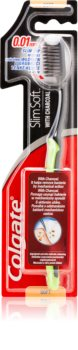 Colgate Slim Soft Charcoal Toothbrush with Activated Charcoal Soft
