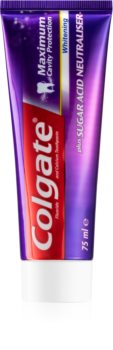 Colgate Maximum Cavity Protection Whitening dentifrice blanchissant