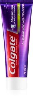 Colgate Maximum Cavity Protection dentifrice