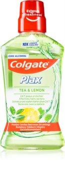 Colgate Plax Tea & Lemon рідина для полоскання ротової порожнини  проти нальоту