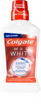 Colgate Max White Expert bleichendes Mundwasser ohne Alkohol