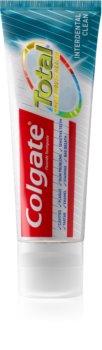 Colgate Total Interdental Clean zubná pasta pre kompletnú ochranu zubov