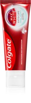 Colgate Max White Extra Care Enamel Protect мягкая отбеливающая зубная паста для защиты зубной эмали