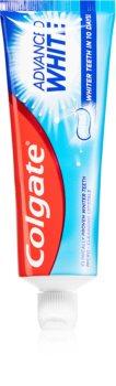 Colgate Advanced White bieliaca pasta proti škvrnám na zubnej sklovine