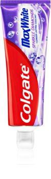 Colgate Max White Sparkle Diamonds pasta za izbjeljivanje zuba s fluoridom