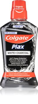 Colgate Plax Charcoal Mundwasser gegen Plaque für gesundes Zahnfleisch ohne Alkohol