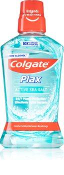 Colgate Plax Active Sea Salt bain de bouche anti-plaque dentaire sans alcool