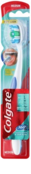 Colgate 360°  Whole Mouth Clean escova de dentes medium