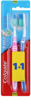Colgate Extra Clean Medium Toothbrushes 2 pcs