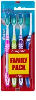 Colgate Extra Clean escovas soft 4 unds