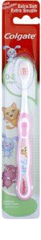 Colgate Kids 0-2 Years escova de dentes para crianças extra suave