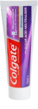 Colgate Maximum Cavity Protection Plus Sugar Acid Neutraliser bleichende Zahnpasta