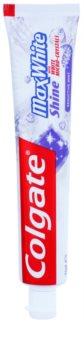 Colgate Max White Shine dentifrice pour renforcer l'émail des dents pour un sourire brillant