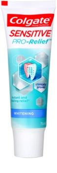 Colgate Sensitive Pro Relief + Whitening dentifrice blanchissant pour dents sensibles