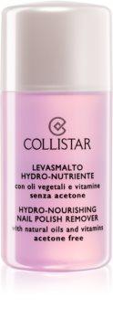 Collistar Hydro-Nourishing Nail Polish Remover solvente per unghie idratante