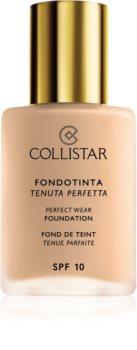 Collistar Perfect Wear Foundation maquillaje líquido resistente al agua SPF 10