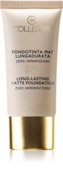 Collistar Long-Lasting Matte Foundation dlouhotrvající matující make-up SPF 10