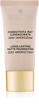 Collistar Foundation Zero Imperfections Long-Lasting Mattifying Foundation SPF 10