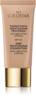 Collistar Deep Moisturizing Foundation hidratáló make-up SPF 15