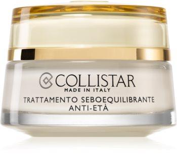 Collistar Special Combination And Oily Skins Sebum-Balancing Anti-Age Treatment fiatalító krém a faggyútermelés szabályozására