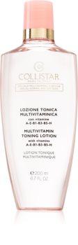 Collistar Special Normal and Dry Skins Multivitamin Toning Lotion тонік для шкіри для нормальної та сухої шкіри