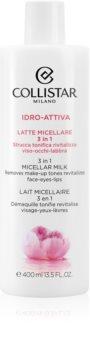 Collistar Idro-Attiva 3in1 Micellar Milk lapte micelar 3 in 1