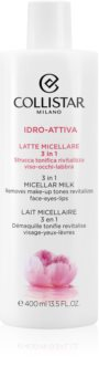 Collistar Idro-Attiva 3in1 Micellar Milk micellás tej 3 az 1-ben