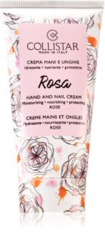 Collistar Rosa Hand and Nail Cream Blødgørende hånd- og neglecreme